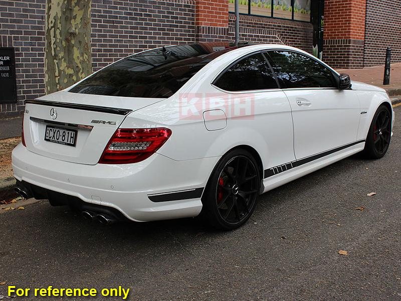 507 Style Stripes Sticker for Mercedes Benz S204 W204