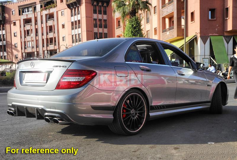 507 Side Stripes Decals Sticker For Mercedes Benz W204 C