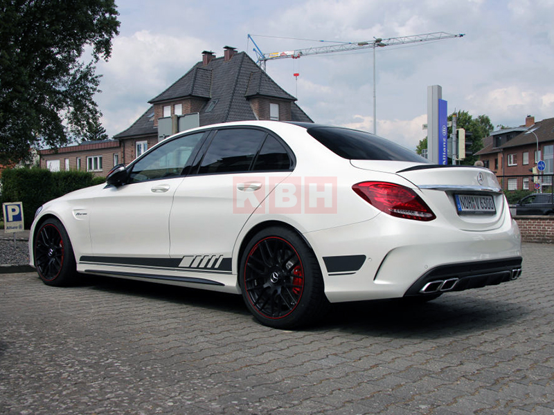 Edition 1 side stripes decal sticker for mercedes benz for Mercedes benz car wash free