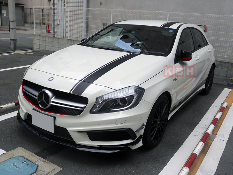 Edition 1 Style Stripe Top Side Sticker For Mercedes Benz