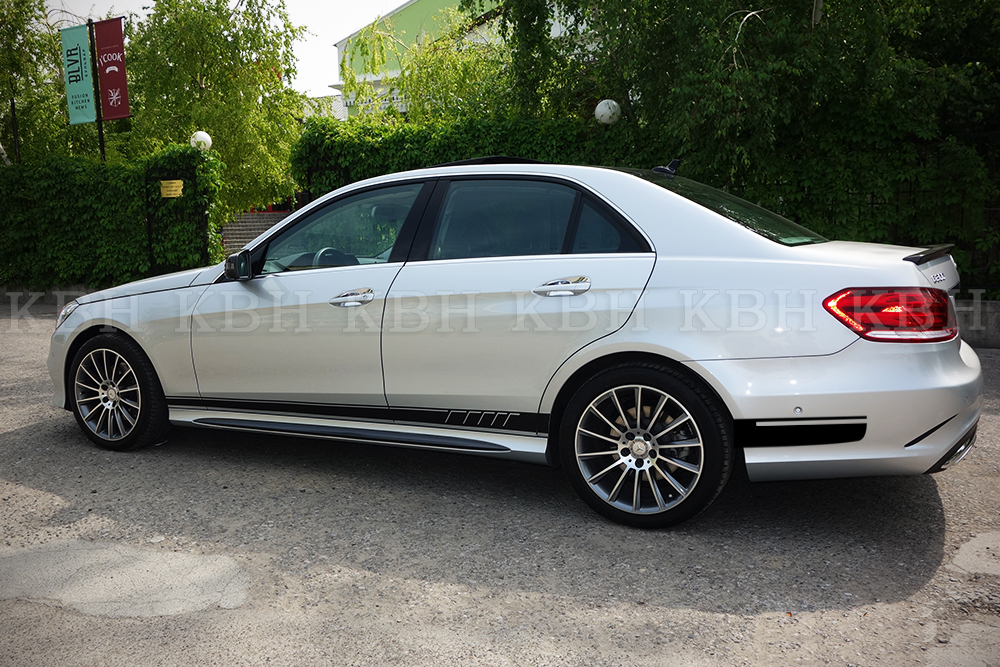 507 Style Side Stripes Sticker For Mercedes Benz W212 E 63