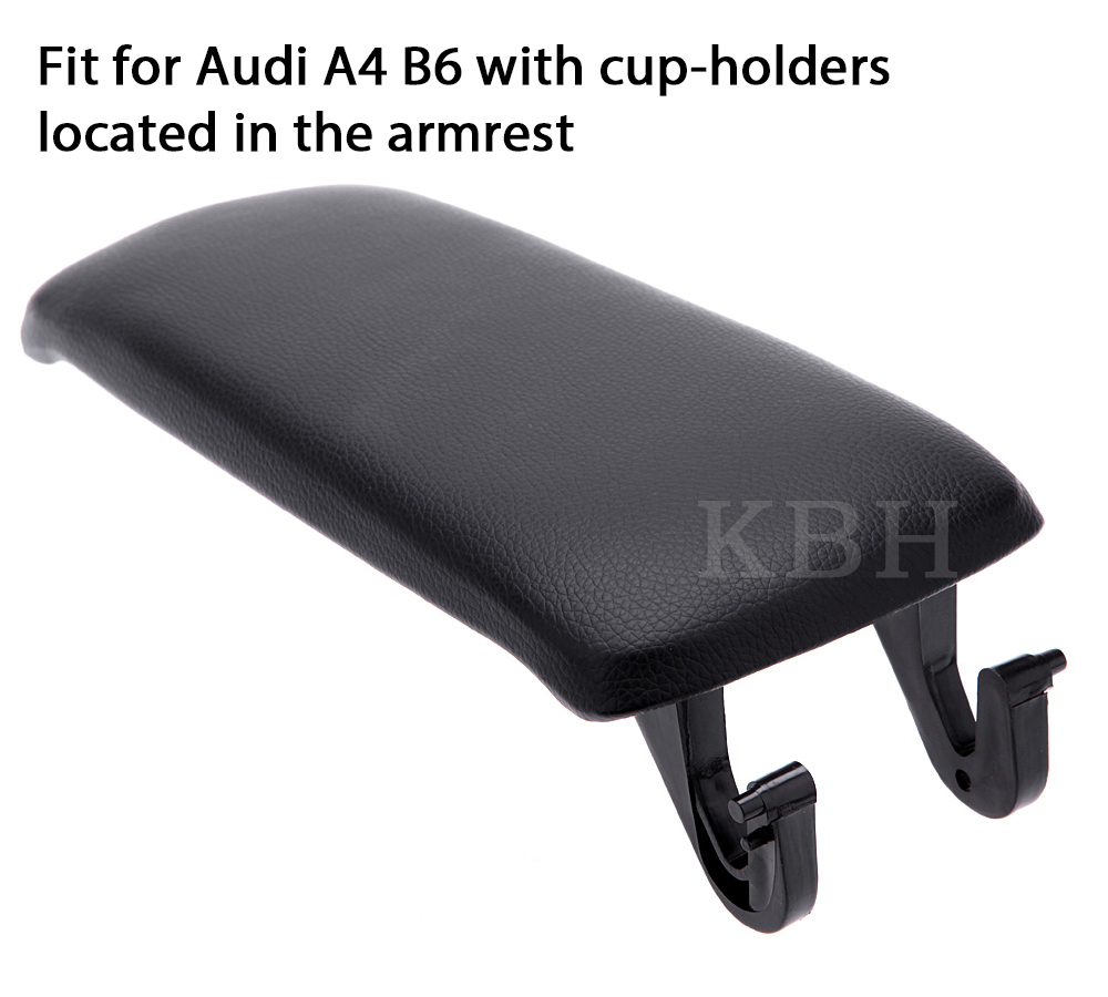 Leather Armrest Center Console Lid Cover For 2000-2004