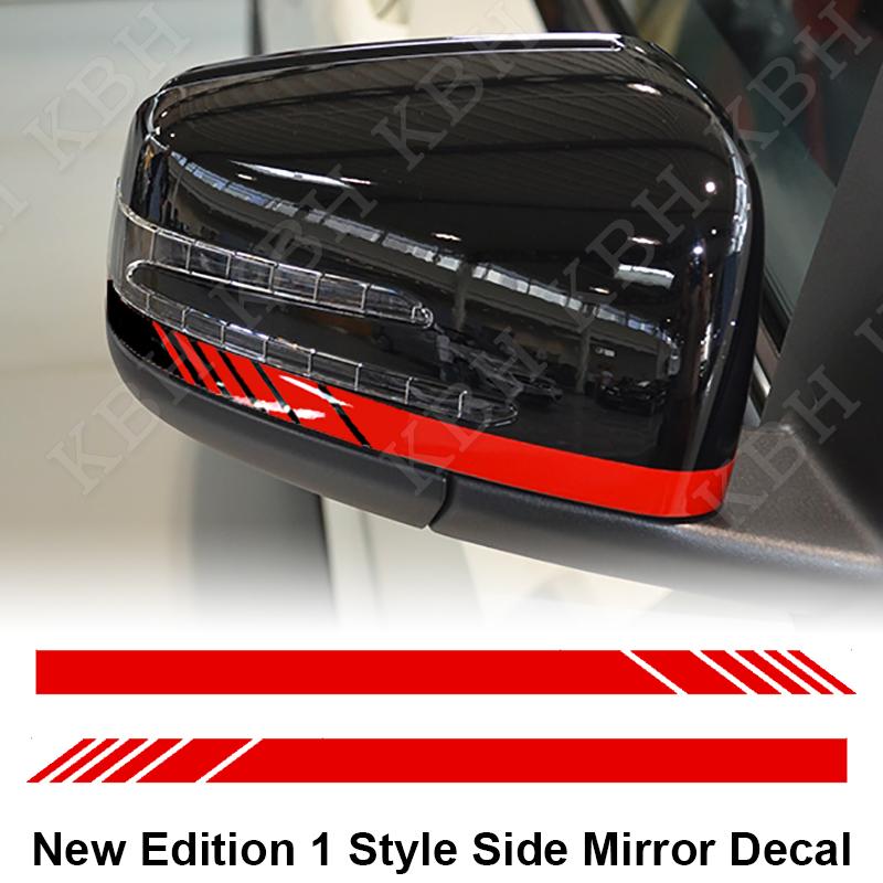 Mirror Stripe Decal Sticker For Mercedes Benz X156 X204