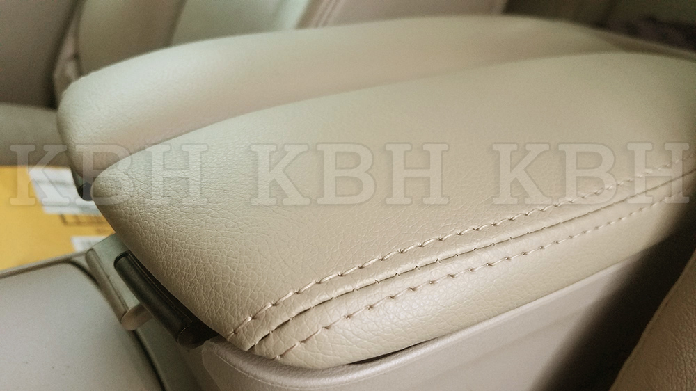 Leather Armrest Center Console Lid Cover Fits For Acura RL