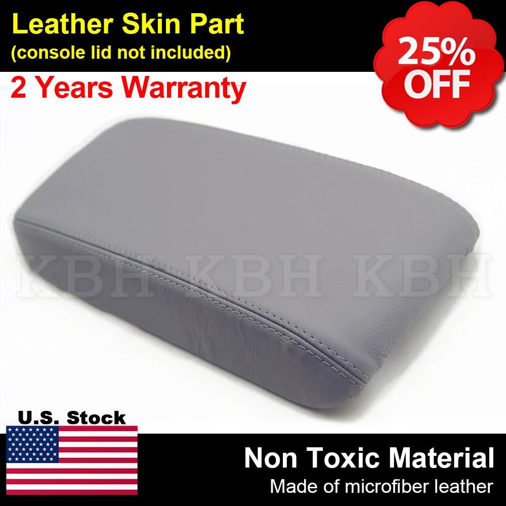 Fits 06-11 Honda Civic Leather Console Lid Center Armrest Cover Skin Beige Tan