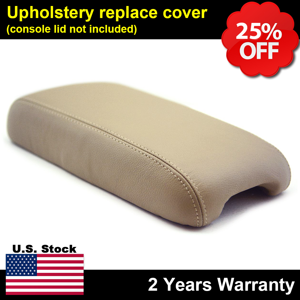 ECRU Center Console Armrest Cover Leather For 92-00 Lexus SC 300 400