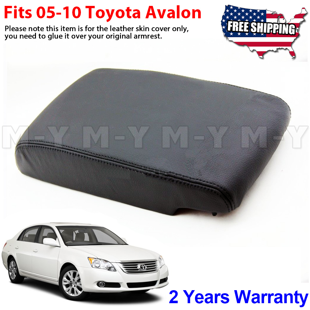 Fits 2005-2010 Toyota Avalon Leather Center Console Lid Armrest Cover Beige Tan