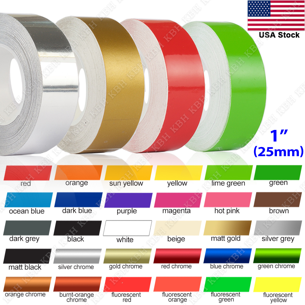 "1//4/"" Roll Vinyl Pinstriping Pin Stripe Soild Line Tape Decal Sticker 6mm BEIGE"